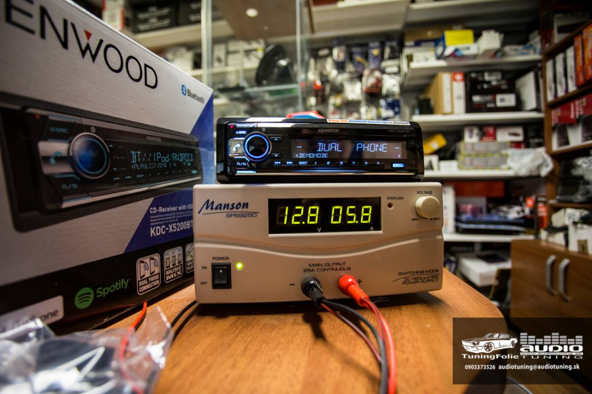 KENWOOD KDC X5200BT 2947