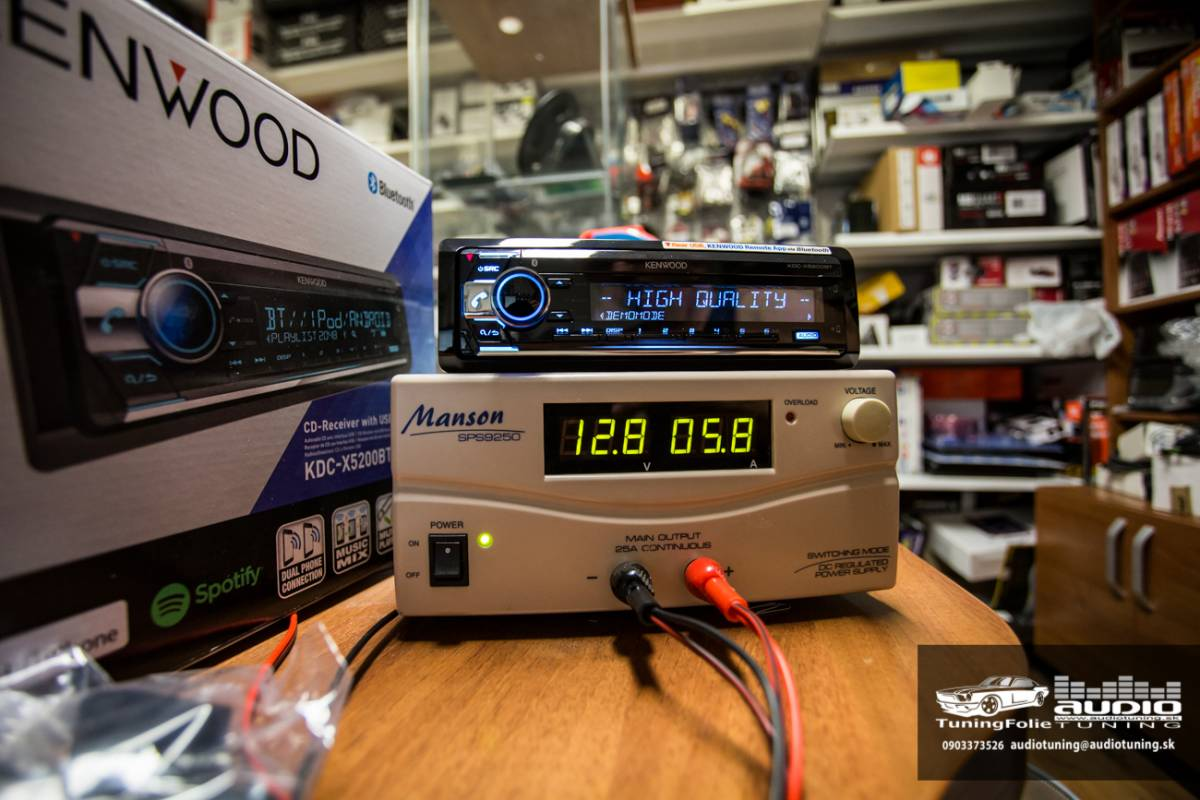 KENWOOD KDC X5200BT 2949