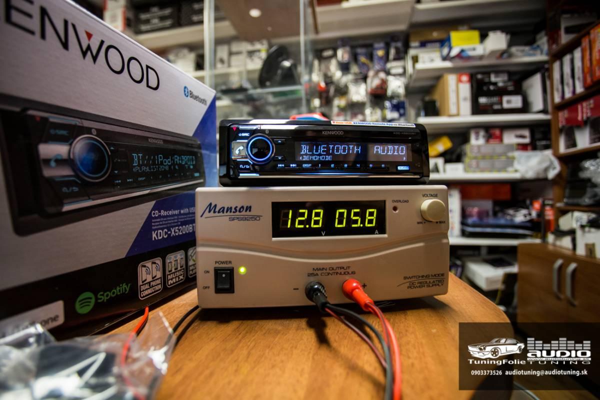 KENWOOD KDC X5200BT 2950