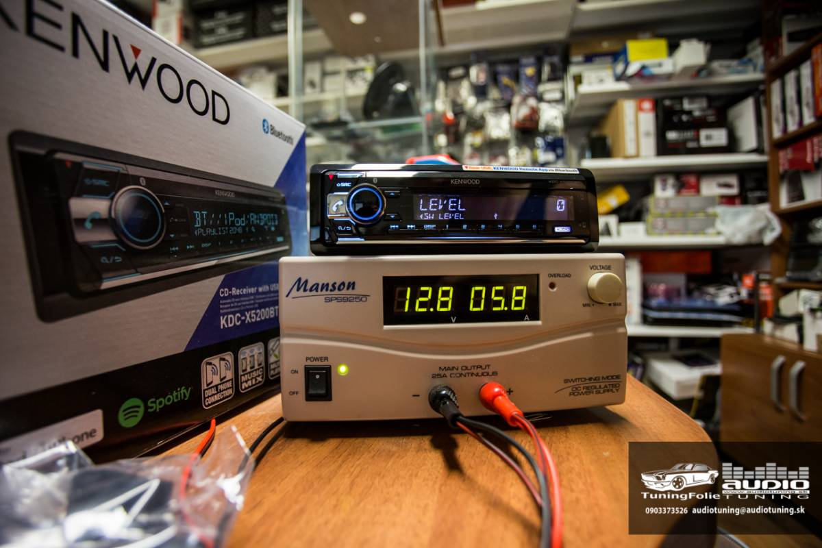 KENWOOD KDC X5200BT 2955