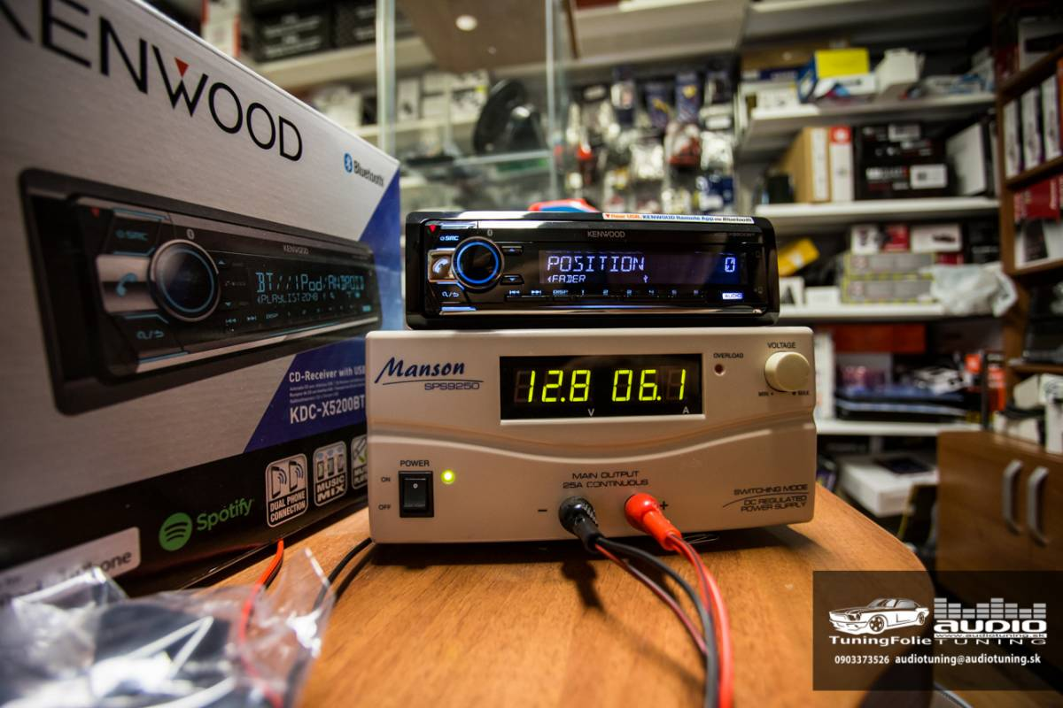 KENWOOD KDC X5200BT 2962