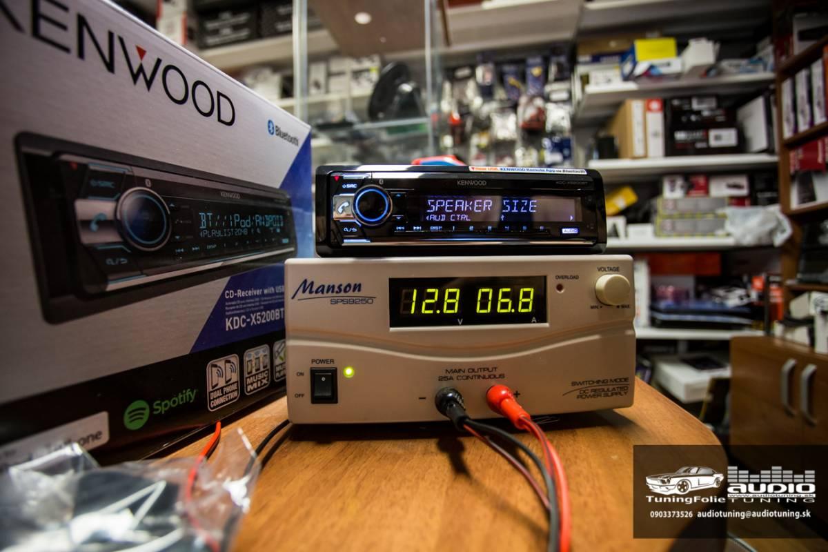 KENWOOD KDC X5200BT 2965