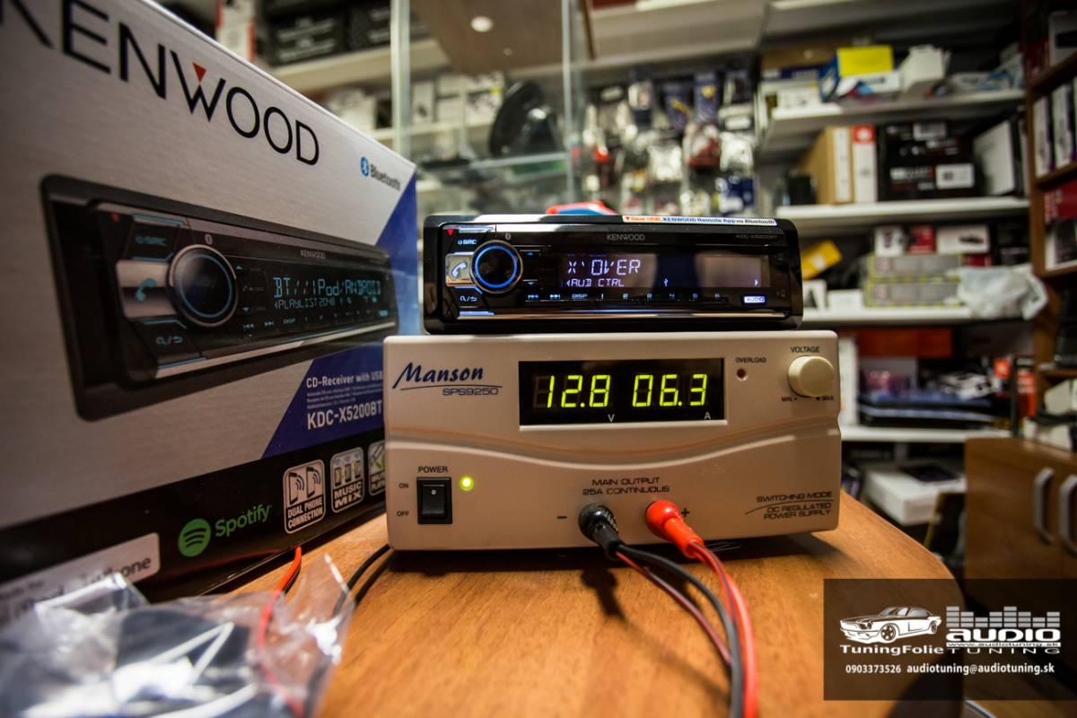 KENWOOD KDC X5200BT 2969