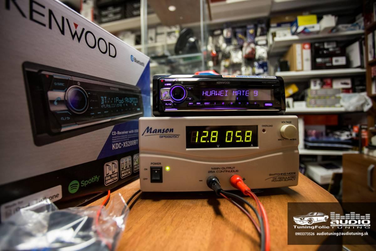 KENWOOD KDC X5200BT 2977