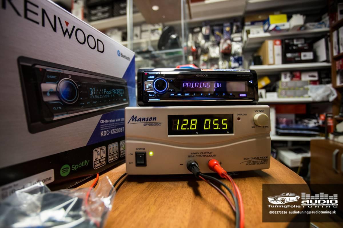KENWOOD KDC X5200BT 2978