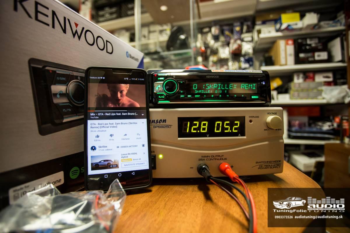 KENWOOD KDC X5200BT 2982