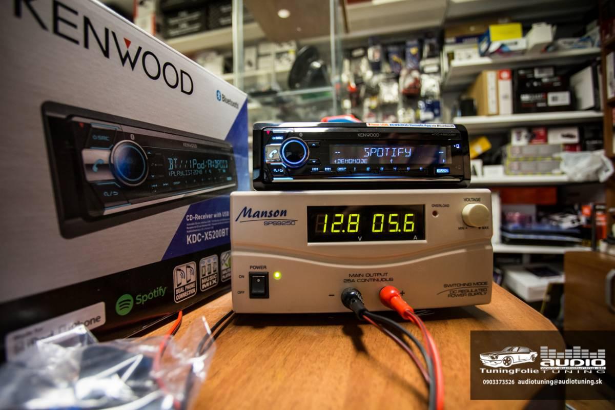KENWOOD KDC X5200BT 2989