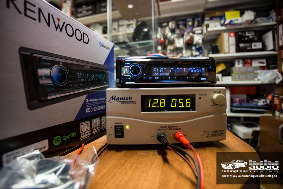 KENWOOD KDC X5200BT 2991
