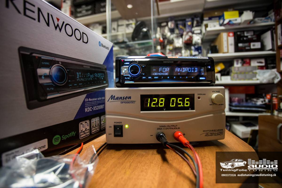 KENWOOD KDC X5200BT 2993