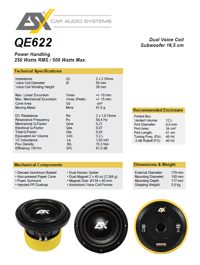 ESX QE622