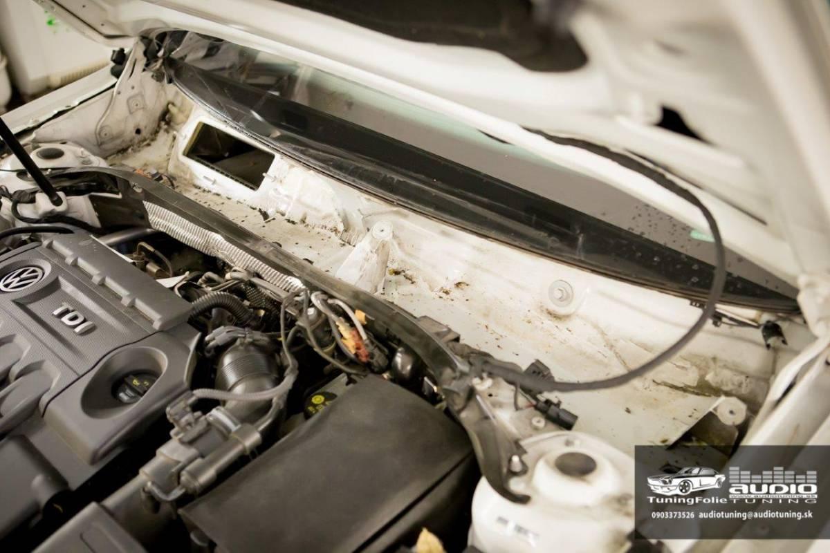 TLMENIE ODHLUCNENIE REPRODUKTORY DVERE PODBLATNIKY TORPEDO VW PASSAT B8 DRARTEX NEOPRENE JBL 3308