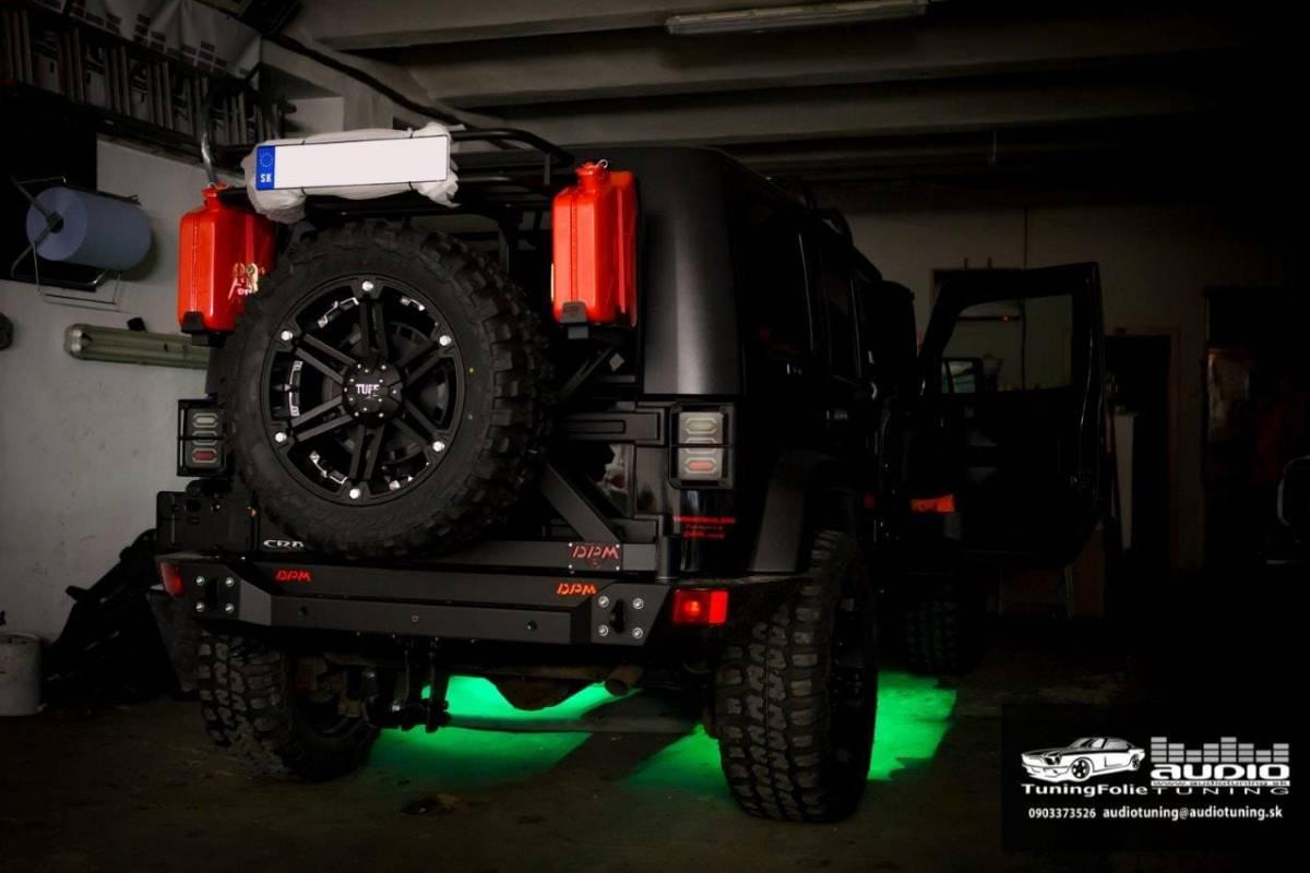 RGB LED PODSVIETENIE JEEP WRANGLER-8048