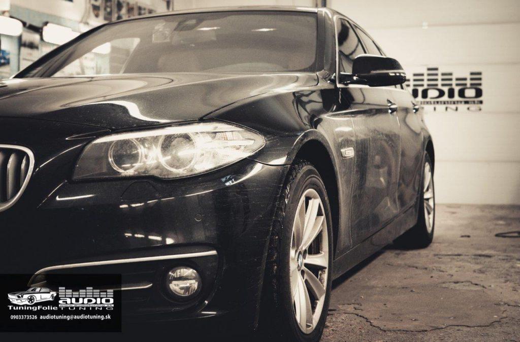REPRODUKTORY TLMENIE ODHLUCNENIE ZOSILBNOVAC SUBWOOFER BMW 525 DRARTEX CRUNCH VIBE-3045