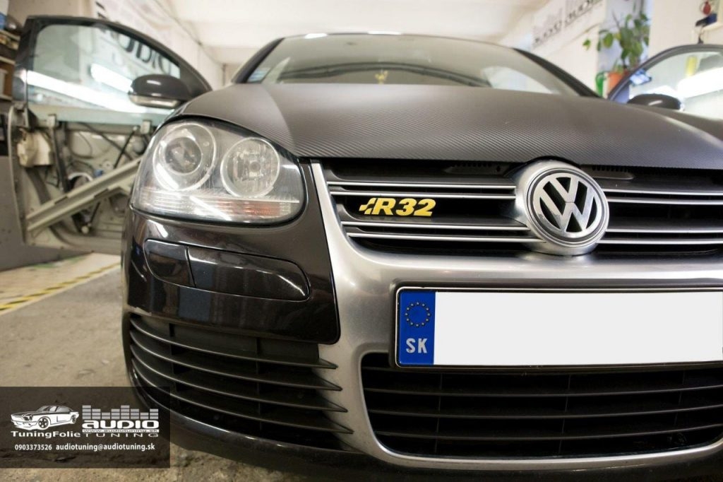 REPRODUKTORY TLMENIE ODHLUCNENIE VW GOLF 5 R32 GROUND ZERO AUTOFUN-6421