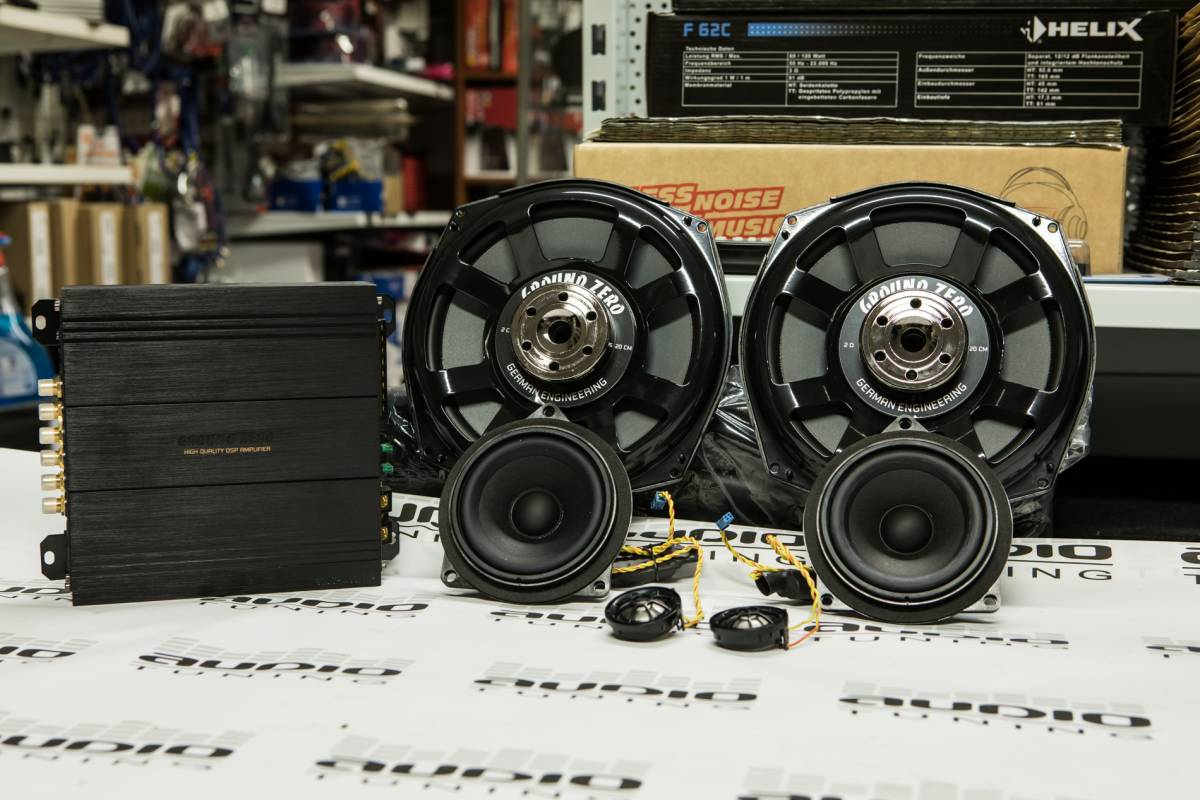BMW SET DSP GROUND ZERO AUDIOTUNING-7912