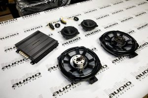 AUDIOTUNING BMW SET 3 GROUND ZERO DSP