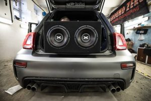 FIAT 595 ABARTH DLS EXCURSION DRARTEX EVOTEC