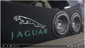 VIDEO: AUDIOTUNINNG EXCURSION SXR 10 DUAL BOX JAGUAR